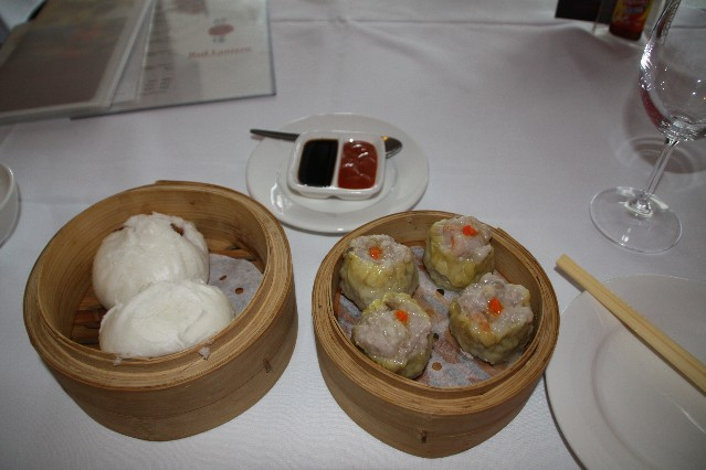 Red Lantern Yum Cha dumplings