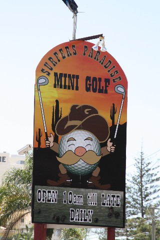 Surfers Paradise Mini Golf